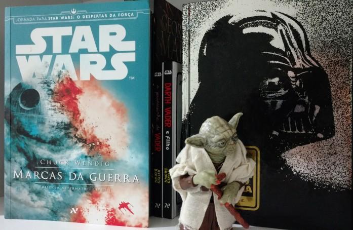 Marcas da Guerra Star Wars